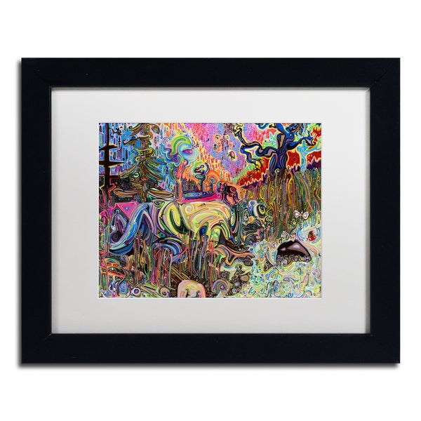 Josh Byer 'Water' Matted Framed Art
