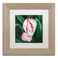 Lily van Bienen 'Mother and Child' Matted Framed Art