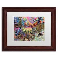 Josh Byer 'Water' Matted Framed Art - Multi