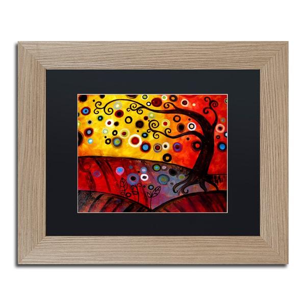 Natasha Wescoat '071' Matted Framed Art