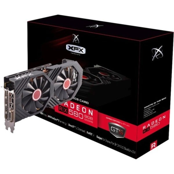 XFX RX-580P8DFD6 Radeon RX 580 Graphic Card - 8 GB GDDR5