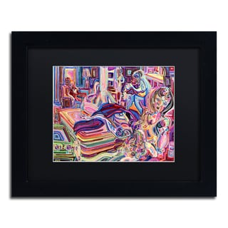 Josh Byer 'Afterparty' Matted Framed Art
