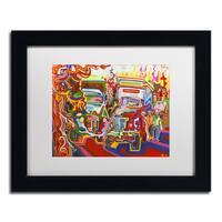 Josh Byer 'Trucks' Matted Framed Art
