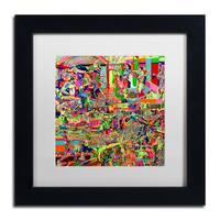 Josh Byer 'Fights' Matted Framed Art