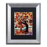 Natasha Wescoat '072' Matted Framed Art