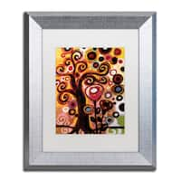 Natasha Wescoat '059' Matted Framed Art