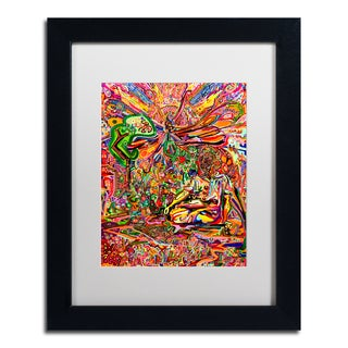 Josh Byer 'Butterfly Rising' Matted Framed Art