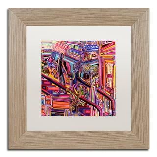 Josh Byer 'Escalator' Matted Framed Art