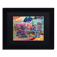 Josh Byer 'Dusk' Matted Framed Art