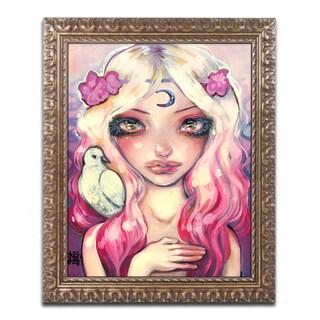 Natasha Wescoat 'Moon Child' Ornate Framed Art