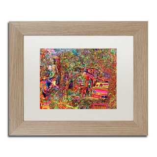 Josh Byer 'One Inch Further' Matted Framed Art