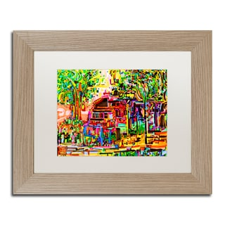 Josh Byer 'We Can Live Here' Matted Framed Art