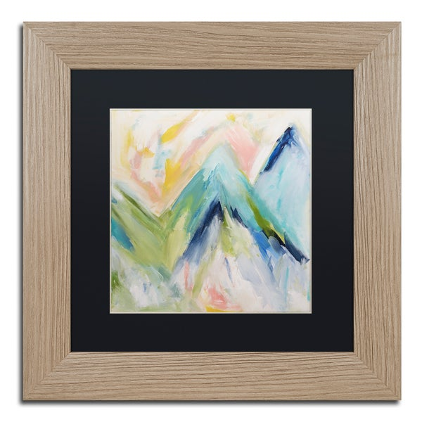 Carrie Schmitt 'Denver Surprise' Matted Framed Art