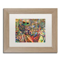 Josh Byer 'His Wife, Her Mother' Matted Framed Art