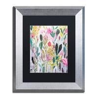 Carrie Schmitt 'Meadow' Matted Framed Art - Multi