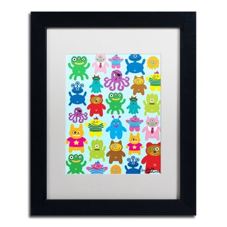 Elizabeth Caldwell 'Monsters and Aliens' Matted Framed Art