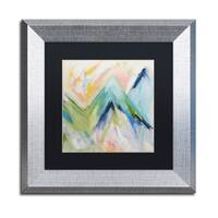 Carrie Schmitt 'Denver Surprise' Matted Framed Art - Multi