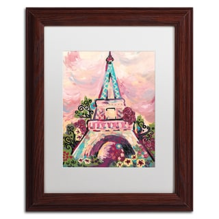 Natasha Wescoat 'Lumiere De La Ville' Matted Framed Art