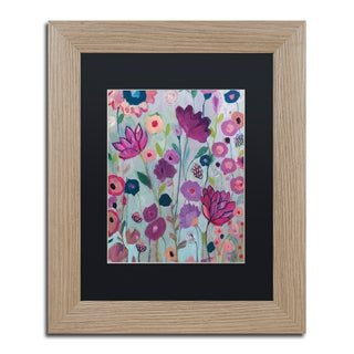 Carrie Schmitt 'Lilac' Matted Framed Art