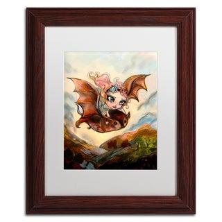 Natasha Wescoat 'Dreaming Of Flying' Matted Framed Art https://ak1.ostkcdn.com/images/products/15234475/P21708565.jpg?_ostk_perf_=percv&impolicy=medium
