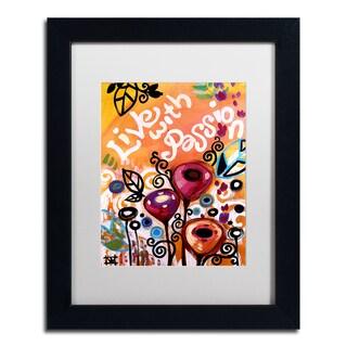 Natasha Wescoat '103' Matted Framed Art