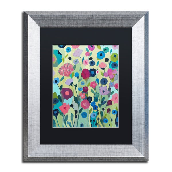 Carrie Schmitt 'Sattva' Matted Framed Art