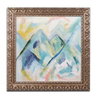 Carrie Schmitt 'Mile High' Ornate Framed Art