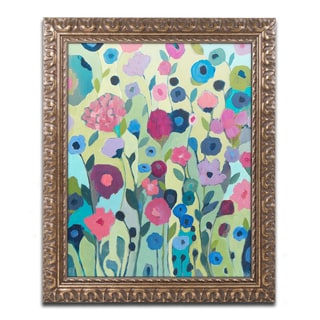 Carrie Schmitt 'Sattva' Ornate Framed Art