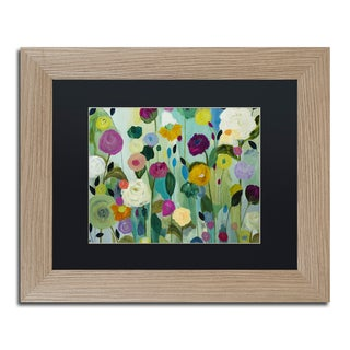 Carrie Schmitt 'Soul Blossoms' Matted Framed Art