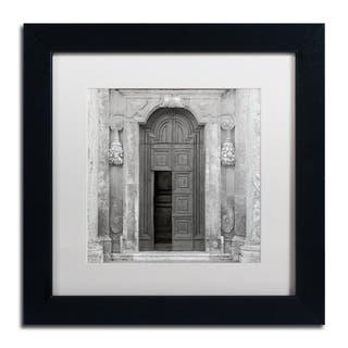 Alan Blaustein 'Tuscany VII' Matted Framed Art