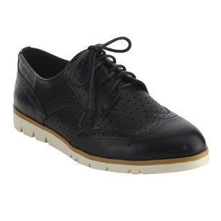 Nature Breeze FJ21 Women's Classical Wingtip Lace Up Dress Oxfords