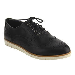 Nature Breeze FJ20 Women's Classical Wingtip Lace Up Dress Oxfords