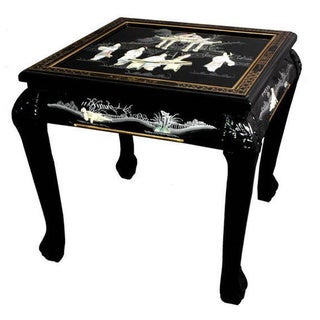Handmade Claw Foot End Table (China)