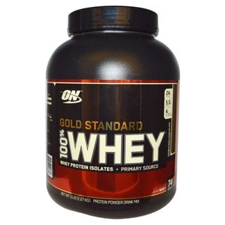 Optimum Nutrition 100-percent Whey 5.15-pound Gold Standard Double Rich Chocolate