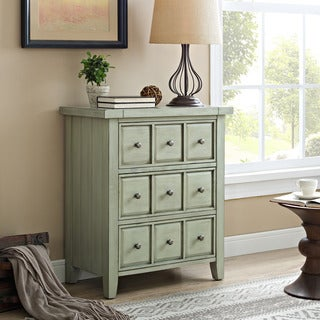 Crosley Sienna Sage Accent Chest