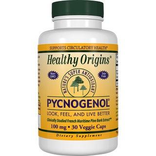 Healthy Origins Pycnogenol 100 mg (30 Veggie Capsules)