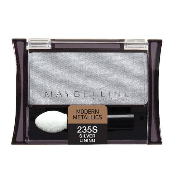 Shop Maybelline New York Expert Wear Eyeshadow Singles Silver Lining