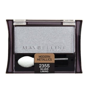 Maybelline New York Expert Wear Eyeshadow Singles Silver Lining 235 Shimmer