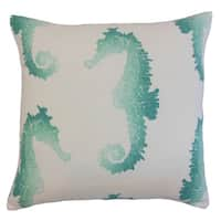 Xenos Outdoor 22-inch Down Feather Throw Pillow Turquoise