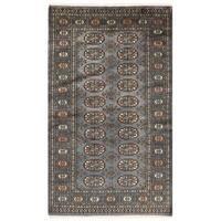 Herat Oriental Pakistani Hand-knotted Bokhara Wool Rug (2'11 x 5'1)