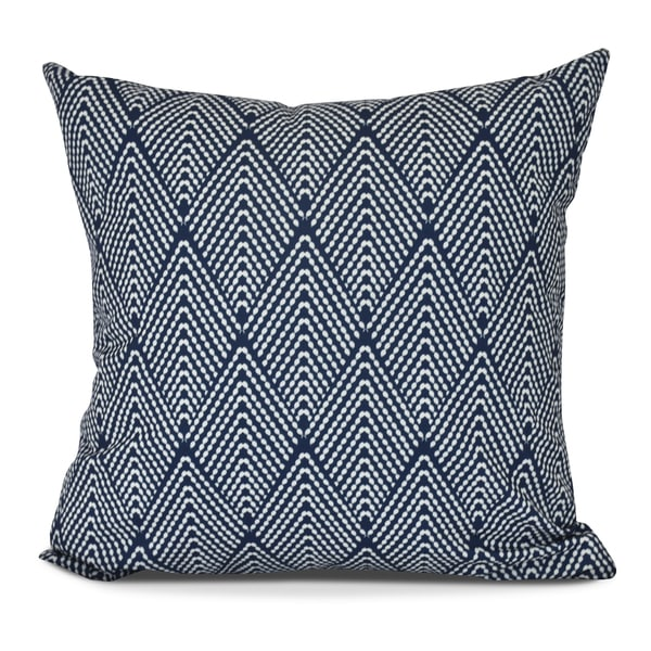 Lifeflor, Geometric Print Outdoor Pillow. Opens flyout.