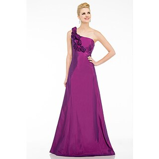 DFI Women's One-Shoulder Prom Dress