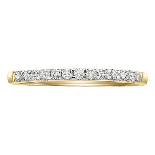 Cambridge 14k Gold 1/4ct TDW Diamond Anniversary Band