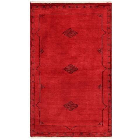 Handmade Bokhara Wool Rug (Pakistan) - 3' x 5'1