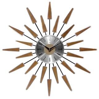 Infinity Instruments Satellite 23-inch Starburst Wall Clock