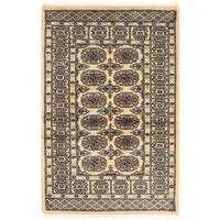 Herat Oriental Pakistani Hand-knotted Bokhara Wool Rug (2'6 x 3'10)