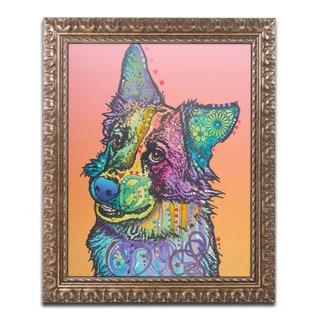 Dean Russo 'Axel' Ornate Framed Art