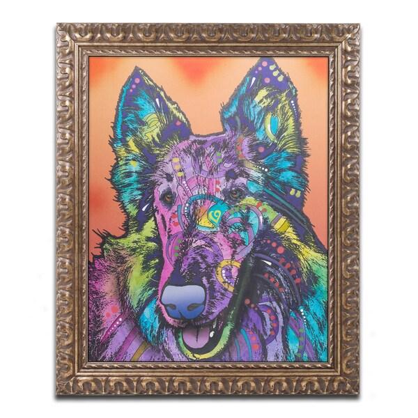 Dean Russo 'Ava' Ornate Framed Art