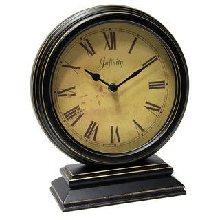 Laurel Creek Kenton Wood 10.25-inch Tabletop Clock
