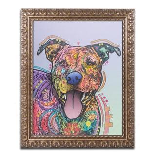 Dean Russo 'Zoey' Ornate Framed Art